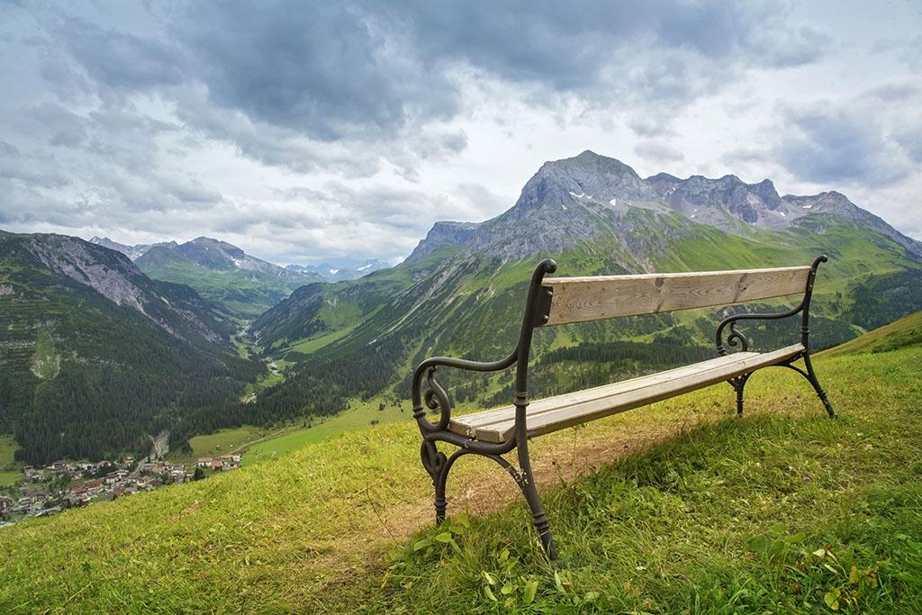 Berg Arlberg