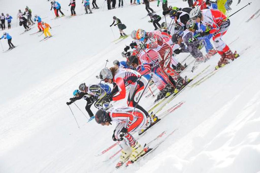 Der Weisse Rausch Skirennen