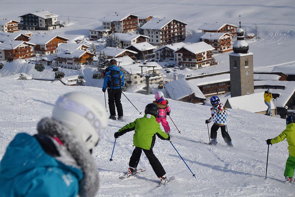 Skifahren Lech Zürs am Arlberg