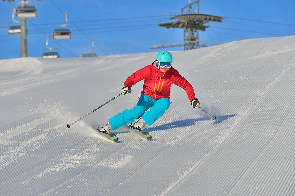 Das Skigebiet St Anton am Arlberg