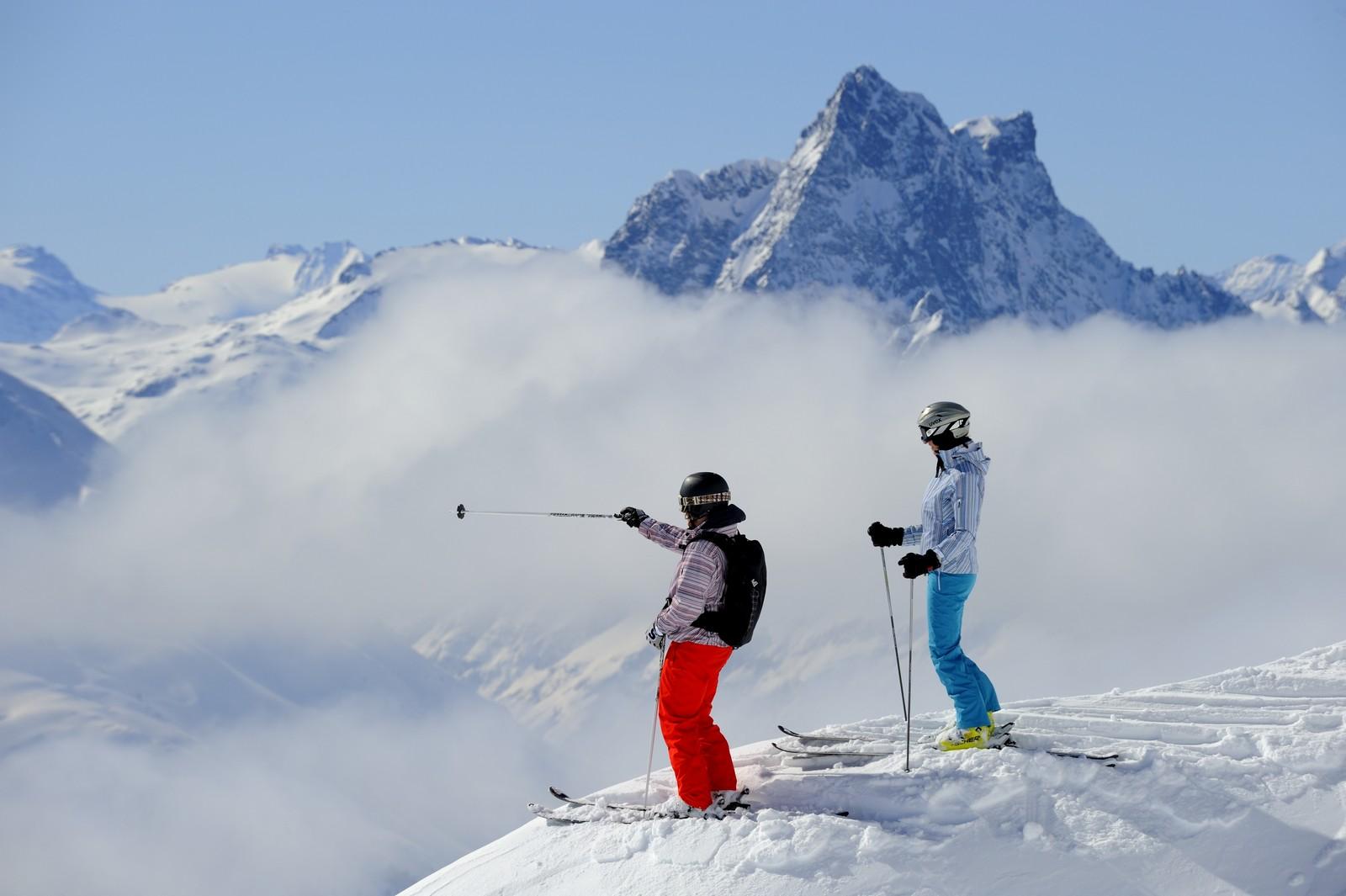 St Arlberg Skifahren