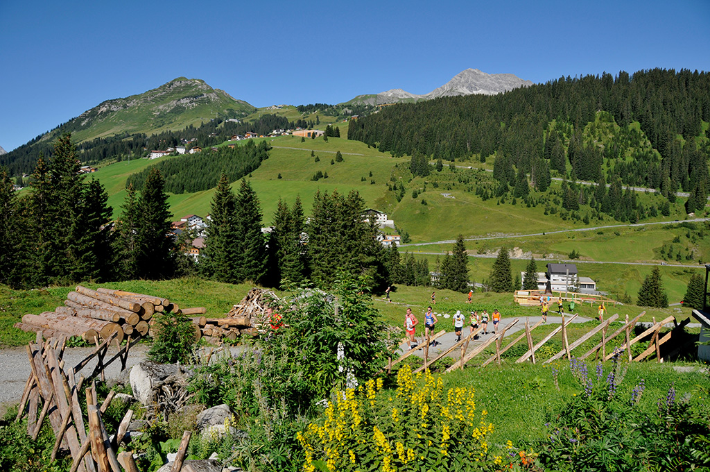 Triathlon am Arlberg