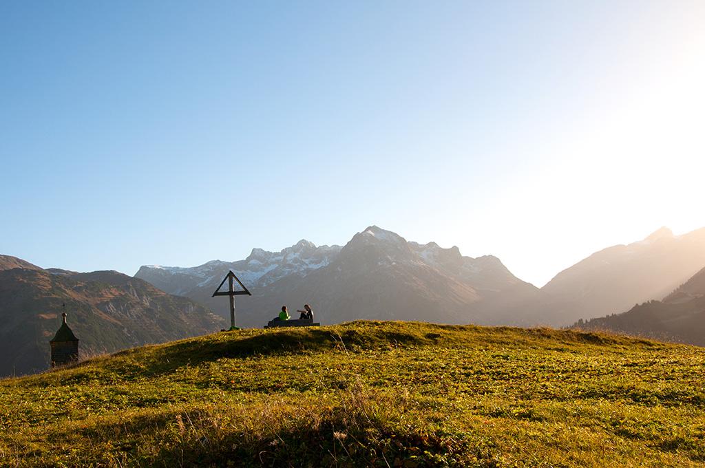 Tannberg Wandern Lech am Arlberg